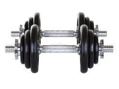 Гантели металлические Hop-Sport 2х10 кг
