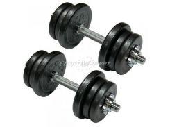 Гантели стальные Newt Home 2х15,5 кг