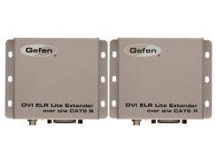 EXT-DVI-1CAT5-SR Комплект устройств для передачи сигналов DVI-D Single Link 1080p (1920х1200) с HDCP и EDID по витой паре CAT6A, расстояние 70 м.