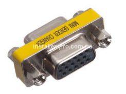 SM3324 HD15 VGA гнездо - HD15 VGA гнездо, низкопрофильный переключатель для штекера