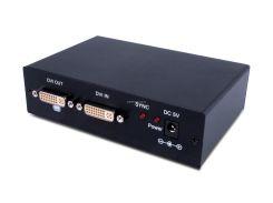 CYP QU-14D - Усилитель-распределитель 1:4 сигналов DVI-D Single Link 1080p/60 (1920х1200) с HDCP и EDID на 1-м выходе