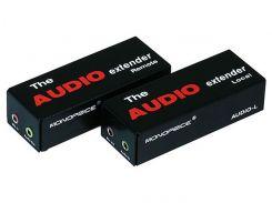 MP3597 - Аудио удлинитель по одной витой паре CAT 5e на 300 м.