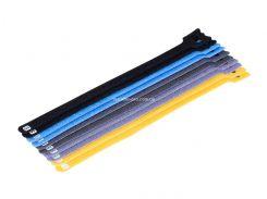 MP34583 Многоразовые кабельные стяжки с отверстием, комплект 10 шт, длина - 22 см