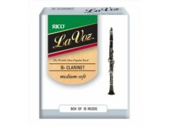 Трости Rico RCC10MS La Voz Bb Clarinet Medium-Soft (10 шт.)