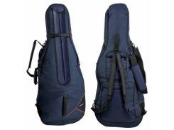 Чехол для виолончели Gewa 291211 Cello gig-bag Premium 3/4 BL
