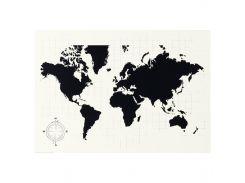 MOLLTORP Доска для планирования, планируйте свой мир карта мира