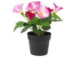 FEJKA Искусственное растение в горшке, Wilec trojbarwny розовый
