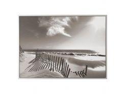 VILSHULT Картина, золотой пляж