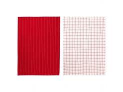 ИКЕА 365+ Тряпка, красный, белый