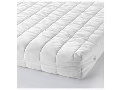 VYSSA SNOSA Матрас для детской кроватки, белый