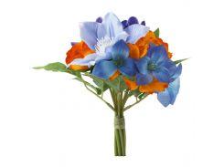 SMYCKA Искусственный цветок, Букет, синий