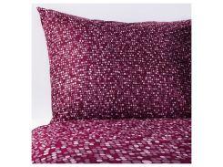SMORBOLL Комплект постельного белья, темно-розовый