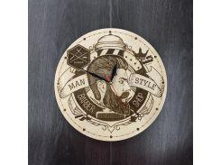 Оригинальные настенные часы 7Arts Мужской стиль CL-0006