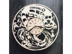 Настенные часы ручной работы 7Arts Аниме Studio Ghibli CL-0042