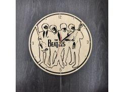 Часы настенные большие оригинальные 7Arts Эпоха The Beatles CL-0050