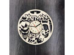 Бесшумные настенные часы 7Arts Batman CL-0051