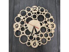Настенные деревянные часы 7Arts Модерн CL-0001