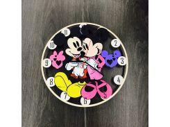 Handmade часы настенные цветные 7Arts Уолт Дисней CL-0069