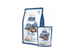 Сухой корм для кошек Brit Care Cat Monty I'm Living Indoor 0,4 кг