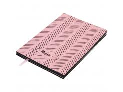 Блокнот деловой Buromax Relax, А5, 96 стр., розовый, без разлиновки (BM.295001-10)