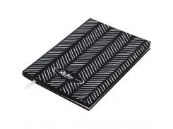Блокнот деловой Buromax Relax, А5, 96 стр., черный, без разлиновки (BM.295001-01)