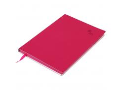 Блокнот деловой Buromax Touch Me, А5, 96 стр., малиновый, линия (BM.295202-29)