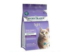 Сухой корм для кошек Arden Grange Adult Cat Light Fresh Chicken & Potato 2 кг