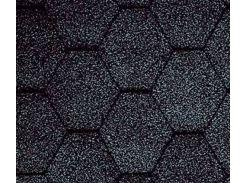Битумная черепица KATEPAL Classic KL, черный, 3 м.кв./упаковка