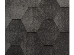 Битумная черепица KATEPAL Jazzy, серый, 3 м.кв./упаковка