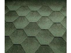 Битумная черепица KATEPAL Jazzy, зеленый, 3 м.кв./упаковка