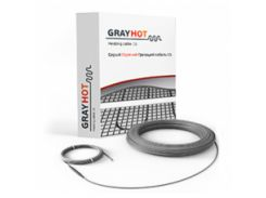 Нагревательный кабель Одескабель Gray Hot cable 15 (186 Вт)