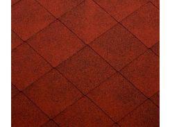 Битумная черепица KATEPAL Super Foxy, красный, 3 м.кв./упаковка