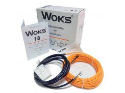 Нагревательный кабель WOKS 18