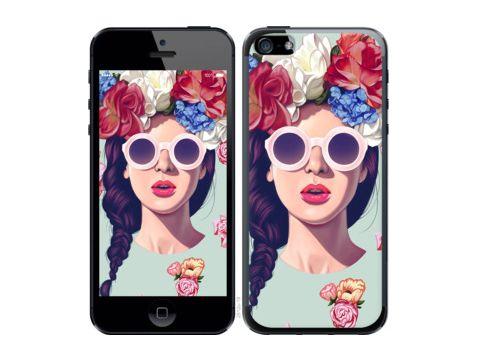 """Чехол на Nokia Lumia 1520 Девушка с цветами """"2812u-314"""" Одесса"""