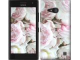 Цены на Чехол на Nokia Lumia 730 Пионы...