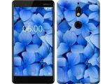 """Цены на Чехол на Nokia 7 Синие цветы """"..."""