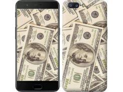 """Чехол на OnePlus 5 Доллары """"3016u-969"""""""