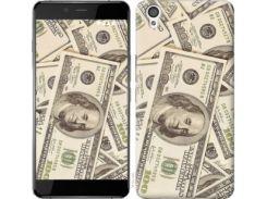 """Чехол на OnePlus X Доллары """"3016c-385"""""""