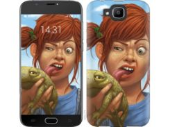 "Чехол на Doogee X9 mini Рыжеволосая девочка с лягушкой ""4059u-774"""