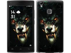 """Чехол на Doogee X5 max Дьявольский волк """"833u-775"""""""