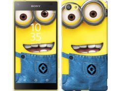 "Чехол на Sony Xperia Z5 Compact E5823 Миньоны 7 ""859c-322"""