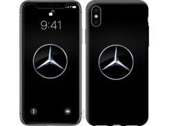 "Чехол на iPhone X Mercedes Benz 1 ""974c-1050"""