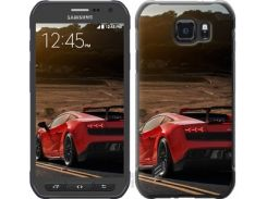 "Чехол на Samsung Galaxy S6 active G890 Lamborghini v2 ""2948u-331"""