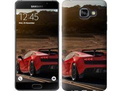 "Чехол на Samsung Galaxy A5 (2016) A510F Lamborghini v2 ""2948c-158"""