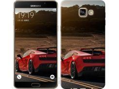 "Чехол на Samsung Galaxy A9 Pro Lamborghini v2 ""2948u-724"""