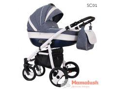 Детская коляска Coletto Savona Decor 2 в 1 SC01