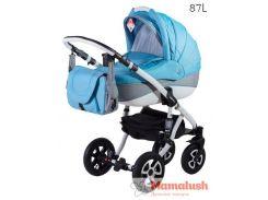 Детская коляска Adamex ERIKA  Детская коляска 2 в 1,  Len 87L