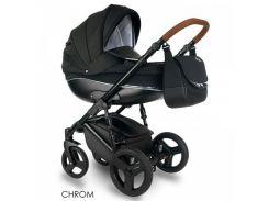 универсальная детская коляска 2 в 1 bexa chrome