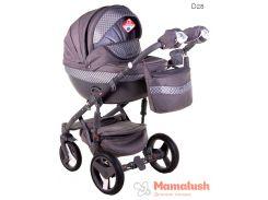 Детская коляска Adamex Monte Deluxe Carbon 2 в 1 D28