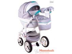 Детская коляска Adamex Monte Deluxe Carbon 2 в 1 D30